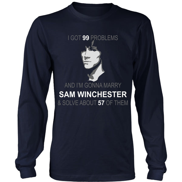 Im gonna marry Sam - Apparel - T-shirt - Supernatural-Sickness - 6