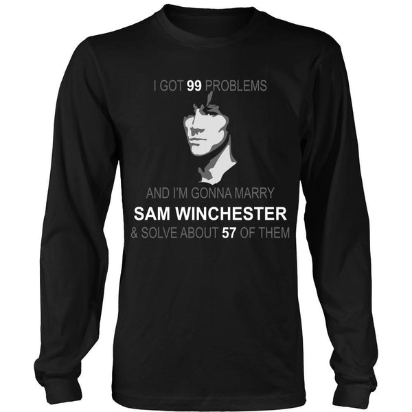 Im gonna marry Sam - Apparel - T-shirt - Supernatural-Sickness - 7