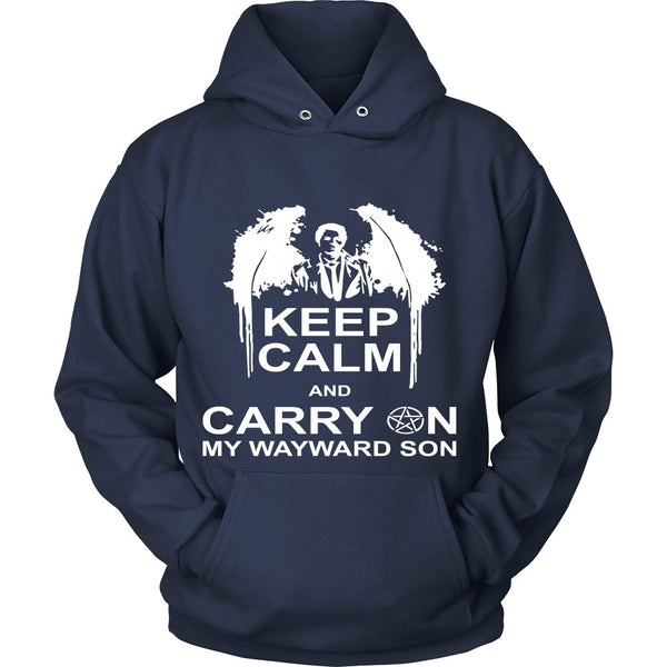 Keep Calm And Carry On My Wayward Son - Apparel - T-shirt - Supernatural-Sickness - 9