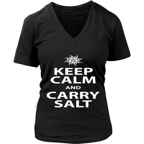 Keep Calm And Carry Salt - Apparel - T-shirt - Supernatural-Sickness - 12