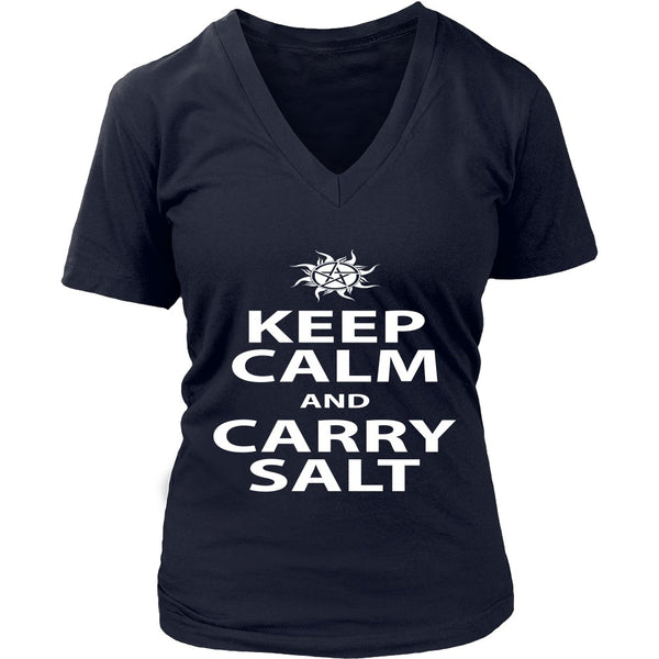 Keep Calm And Carry Salt - Apparel - T-shirt - Supernatural-Sickness - 13