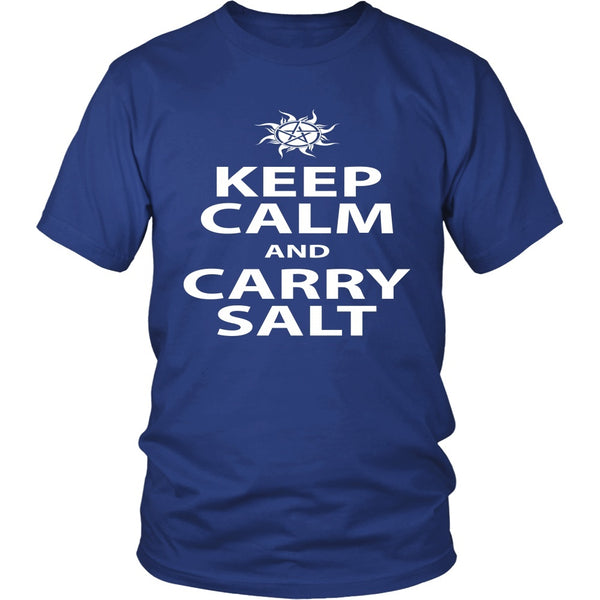 Keep Calm And Carry Salt - Apparel - T-shirt - Supernatural-Sickness - 2