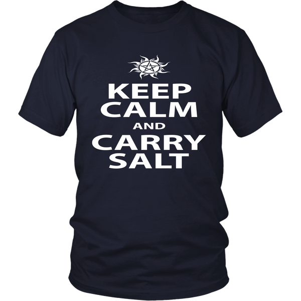 Keep Calm And Carry Salt - Apparel - T-shirt - Supernatural-Sickness - 3