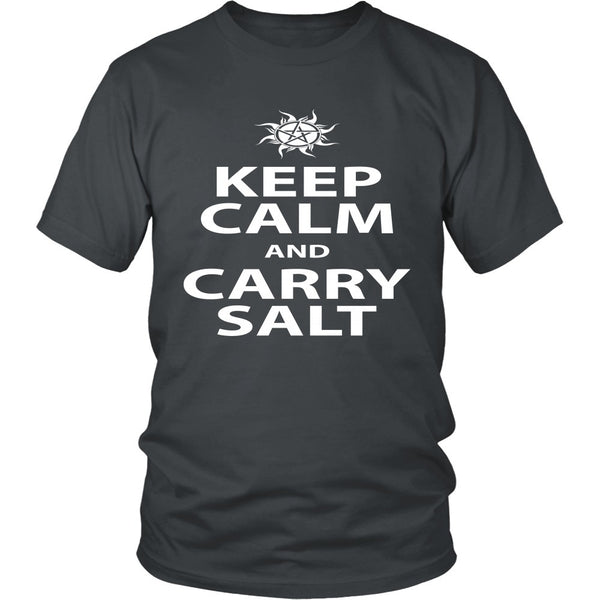 Keep Calm And Carry Salt - Apparel - T-shirt - Supernatural-Sickness - 4