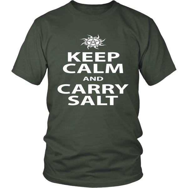Keep Calm And Carry Salt - Apparel - T-shirt - Supernatural-Sickness - 5