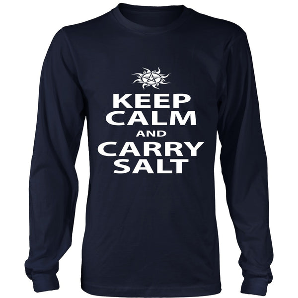 Keep Calm And Carry Salt - Apparel - T-shirt - Supernatural-Sickness - 6
