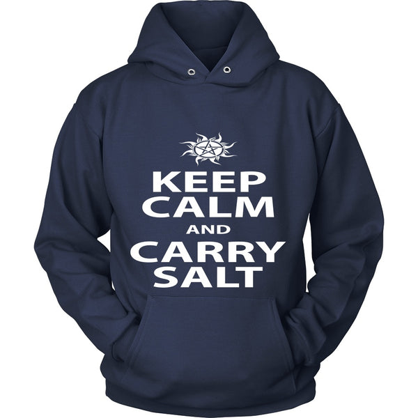 Keep Calm And Carry Salt - Apparel - T-shirt - Supernatural-Sickness - 9
