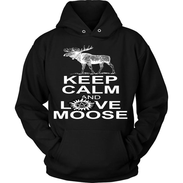 Keep Calm And Love Moose - T-shirt - Supernatural-Sickness - 8