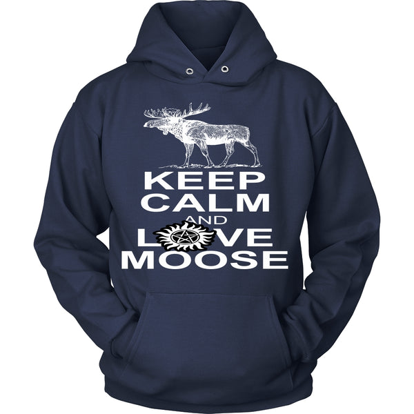 Keep Calm And Love Moose - T-shirt - Supernatural-Sickness - 9