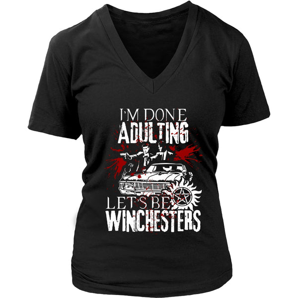 Let's Be Winchesters - T-shirt - Supernatural-Sickness - 12