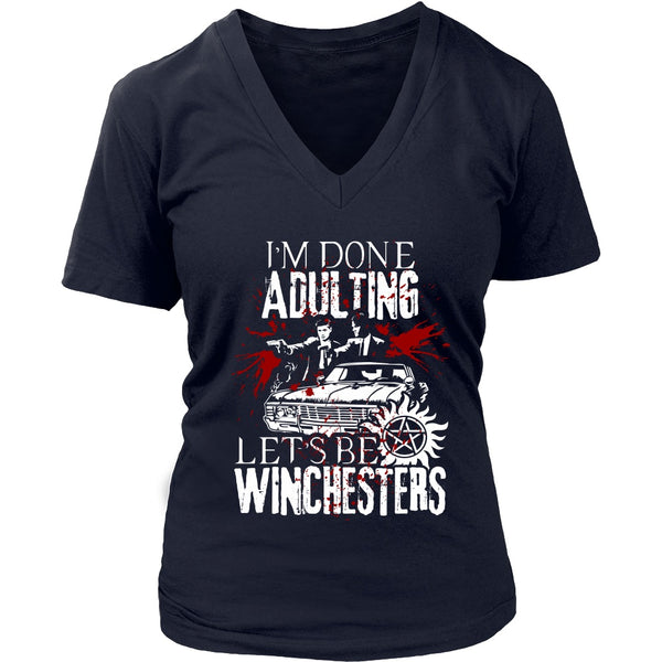 Let's Be Winchesters - T-shirt - Supernatural-Sickness - 13