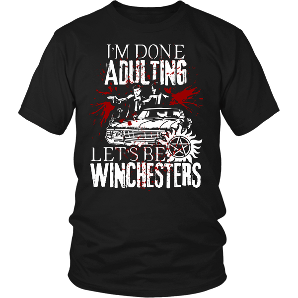 Let's Be Winchesters - T-shirt - Supernatural-Sickness - 1