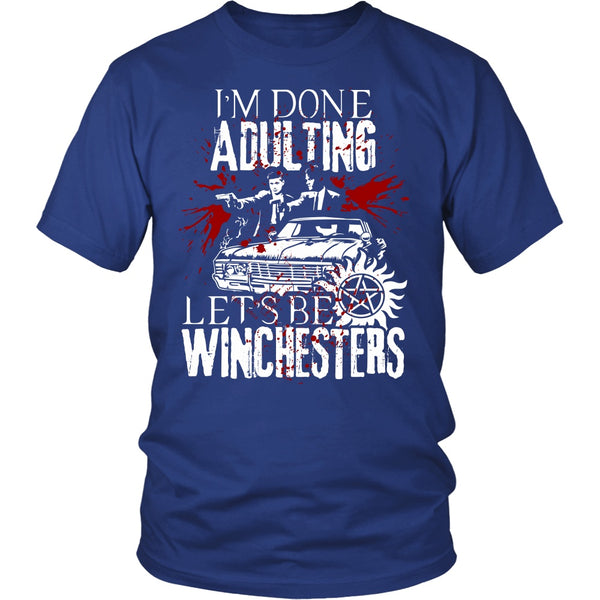 Let's Be Winchesters - T-shirt - Supernatural-Sickness - 2