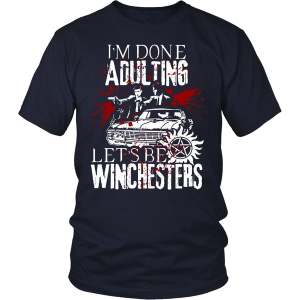 Let's Be Winchesters - T-shirt - Supernatural-Sickness - 3