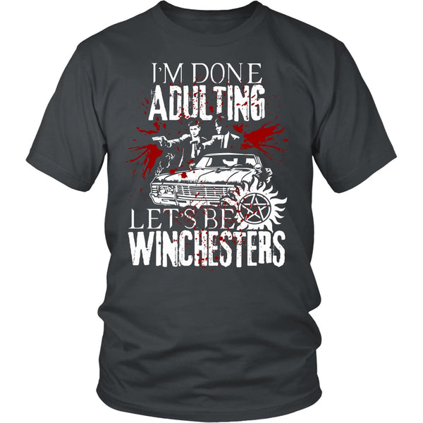 Let's Be Winchesters - T-shirt - Supernatural-Sickness - 4