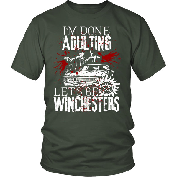 Let's Be Winchesters - T-shirt - Supernatural-Sickness - 5