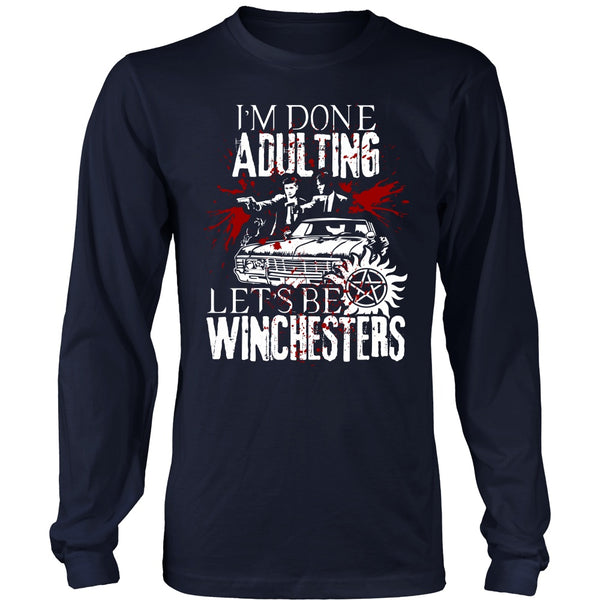Let's Be Winchesters - T-shirt - Supernatural-Sickness - 6
