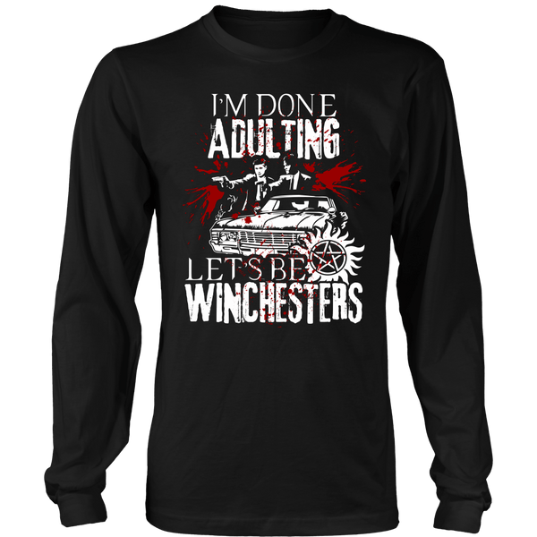 Let's Be Winchesters - T-shirt - Supernatural-Sickness - 7