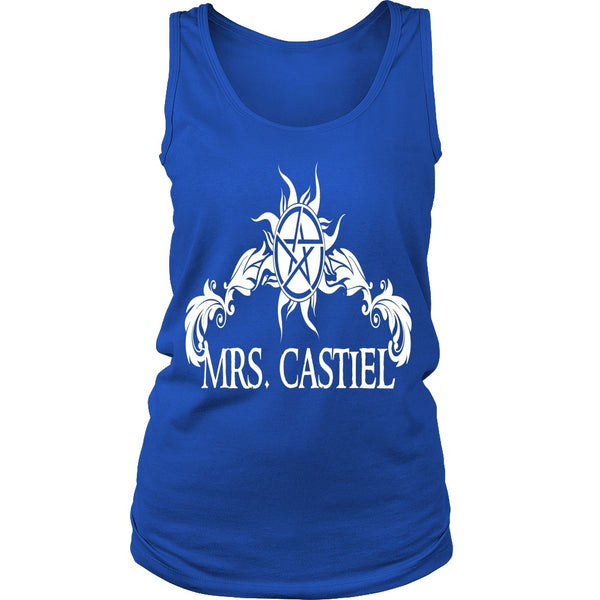 Mrs. Castiel - Apparel - T-shirt - Supernatural-Sickness - 11