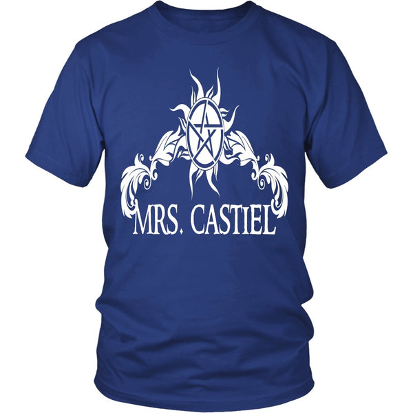 Mrs. Castiel - Apparel - T-shirt - Supernatural-Sickness - 2