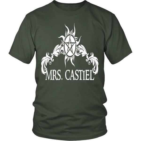 Mrs. Castiel - Apparel - T-shirt - Supernatural-Sickness - 5