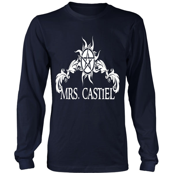 Mrs. Castiel - Apparel - T-shirt - Supernatural-Sickness - 6