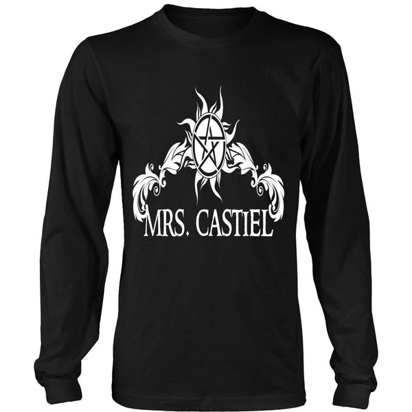 Mrs. Castiel - Apparel - T-shirt - Supernatural-Sickness - 7