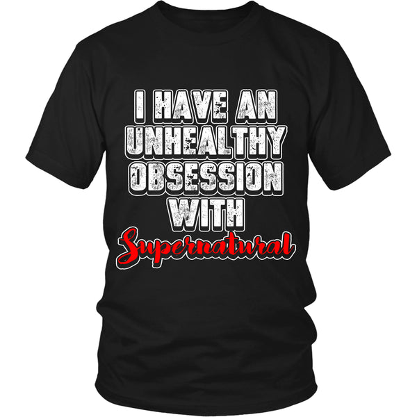 Obsession with Supernatural - T-shirt - Supernatural-Sickness - 1