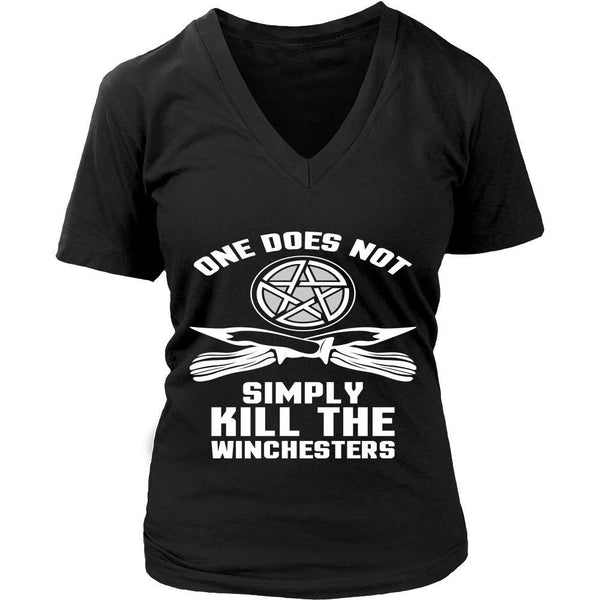 One Does Not Simply Kill The Winchesters - Apparel - T-shirt - Supernatural-Sickness - 12