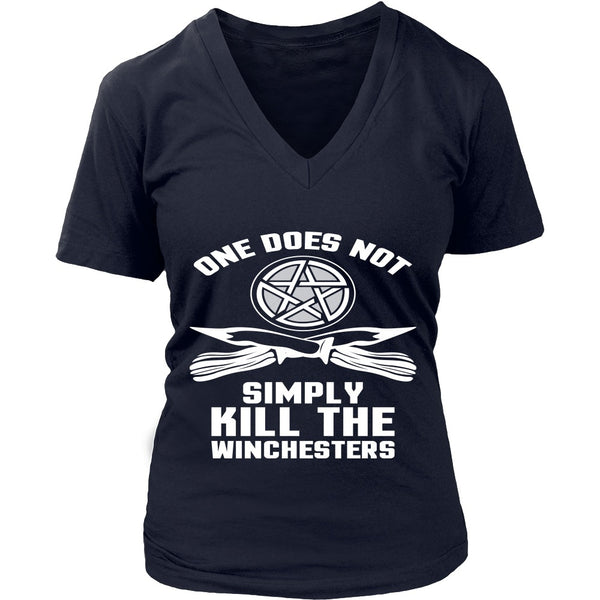 One Does Not Simply Kill The Winchesters - Apparel - T-shirt - Supernatural-Sickness - 13