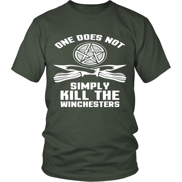 One Does Not Simply Kill The Winchesters - Apparel - T-shirt - Supernatural-Sickness - 5