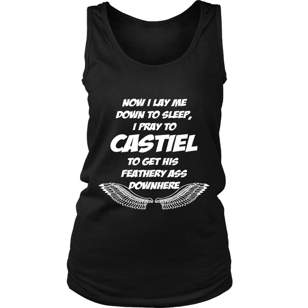 Pray to Castiel - Apparel - T-shirt - Supernatural-Sickness - 10