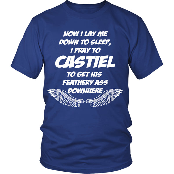 Pray to Castiel - Apparel - T-shirt - Supernatural-Sickness - 2