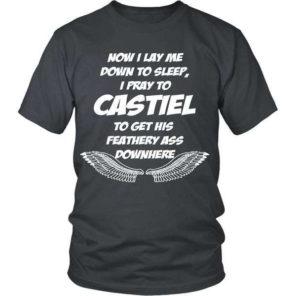 Pray to Castiel - Apparel - T-shirt - Supernatural-Sickness - 4