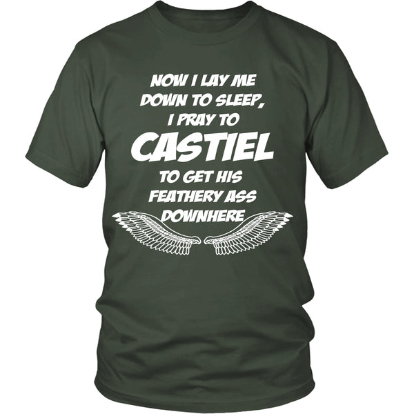 Pray to Castiel - Apparel - T-shirt - Supernatural-Sickness - 5