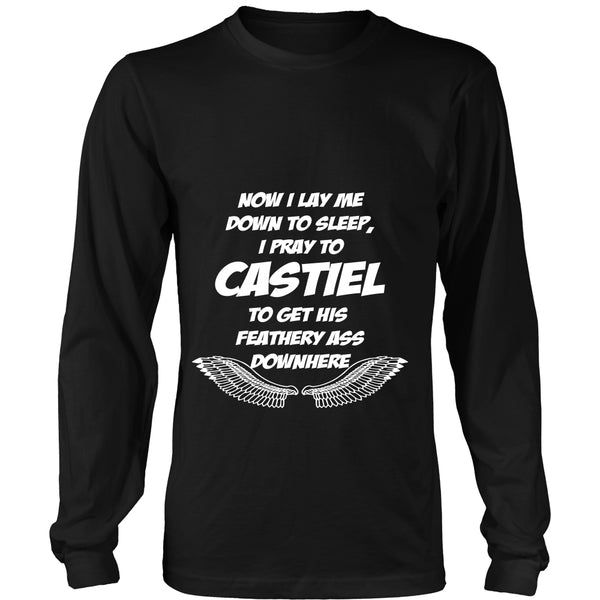 Pray to Castiel - Apparel - T-shirt - Supernatural-Sickness - 7