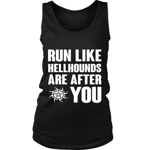 Run like Hellhounds are after You - T-shirt - Supernatural-Sickness - 11