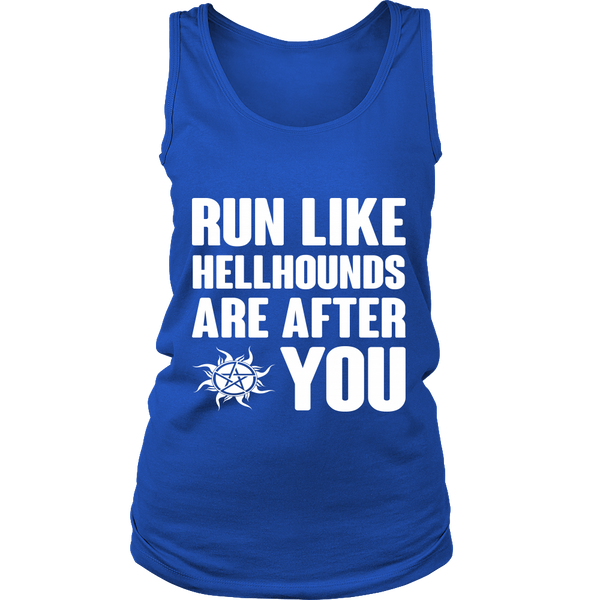 Run like Hellhounds are after You - T-shirt - Supernatural-Sickness - 12