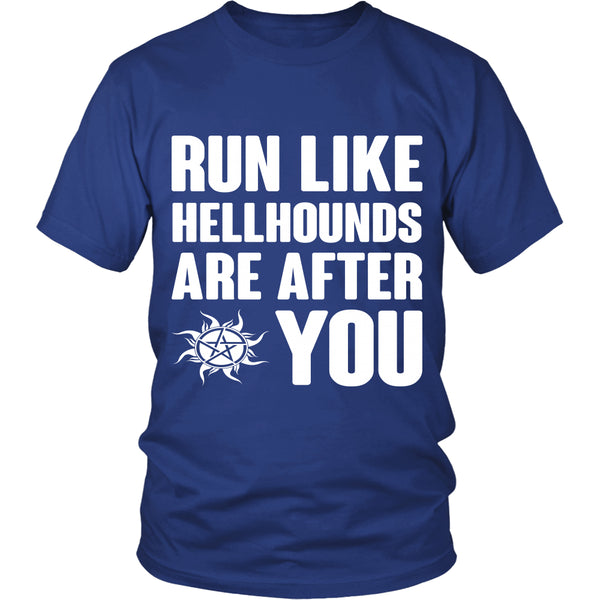 Run like Hellhounds are after You - T-shirt - Supernatural-Sickness - 2
