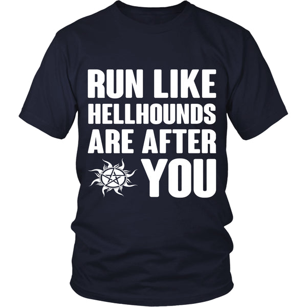 Run like Hellhounds are after You - T-shirt - Supernatural-Sickness - 3