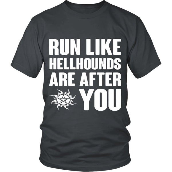 Run like Hellhounds are after You - T-shirt - Supernatural-Sickness - 4