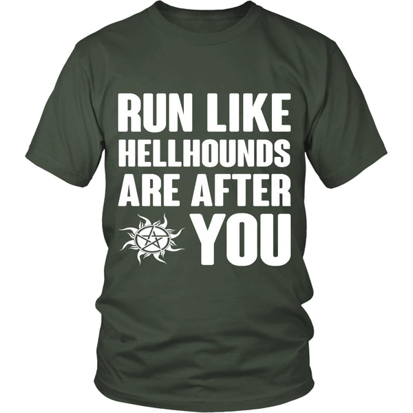 Run like Hellhounds are after You - T-shirt - Supernatural-Sickness - 5