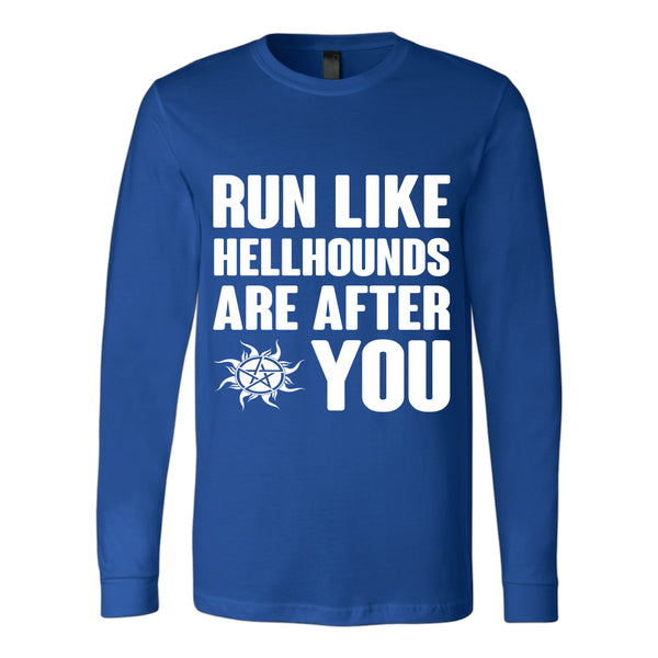 Run like Hellhounds are after You - T-shirt - Supernatural-Sickness - 7