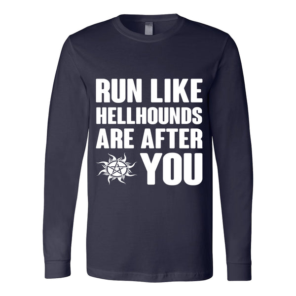 Run like Hellhounds are after You - T-shirt - Supernatural-Sickness - 8