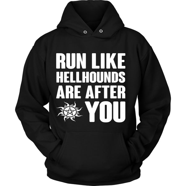 Run like Hellhounds are after You - T-shirt - Supernatural-Sickness - 9