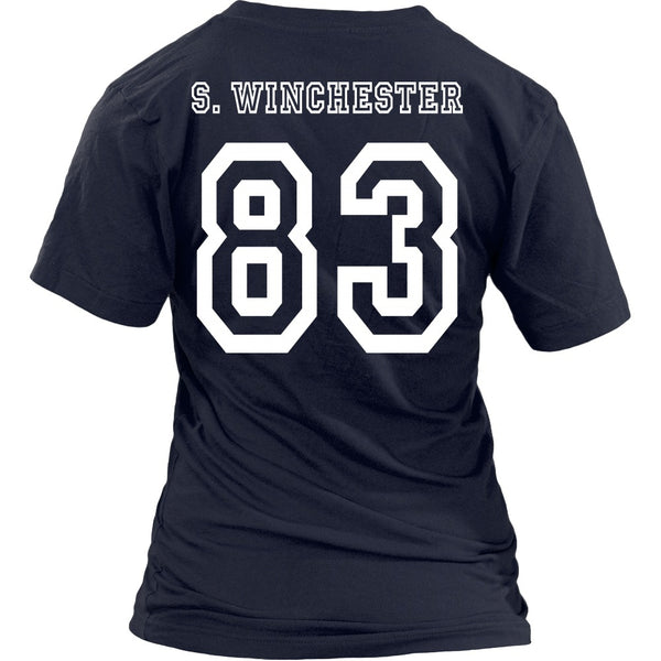 S. Winchester - Apparel - T-shirt - Supernatural-Sickness - 26