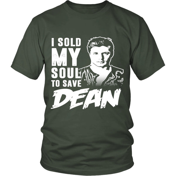 Sold my soul to save Dean - Apparel - T-shirt - Supernatural-Sickness - 5