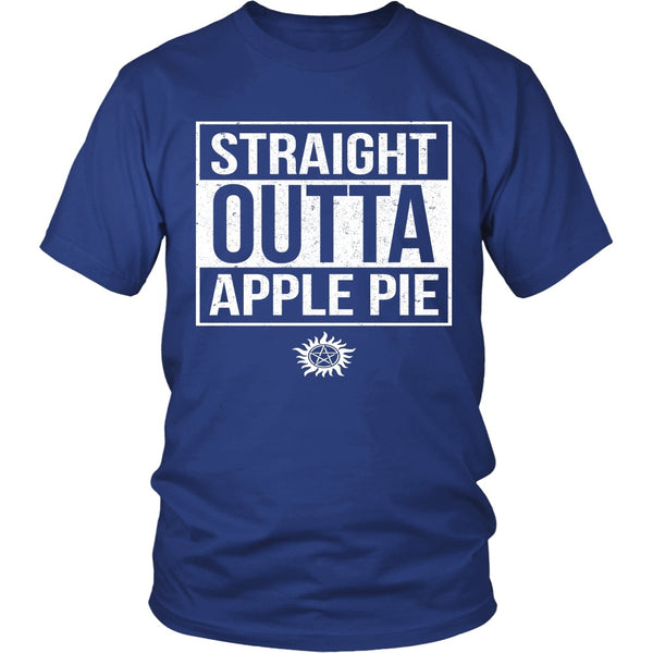 Straight Outta Apple Pie - Apparel - T-shirt - Supernatural-Sickness - 2