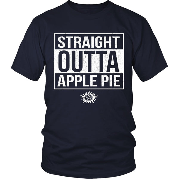 Straight Outta Apple Pie - Apparel - T-shirt - Supernatural-Sickness - 3