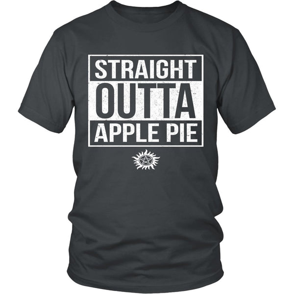 Straight Outta Apple Pie - Apparel - T-shirt - Supernatural-Sickness - 4